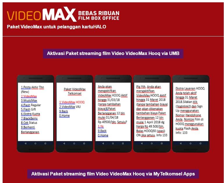 nonton film online dengan paket videomax